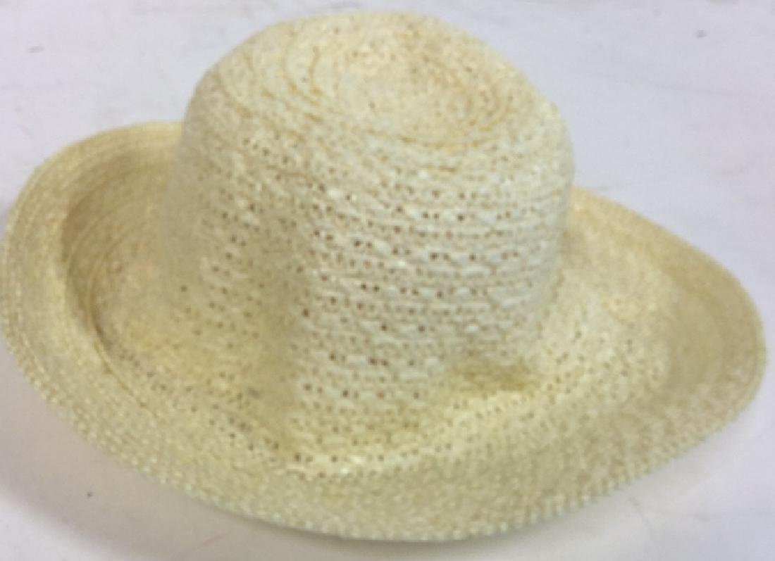 6 Assorted Ladies Hats Assortment of six wool and straw - 9