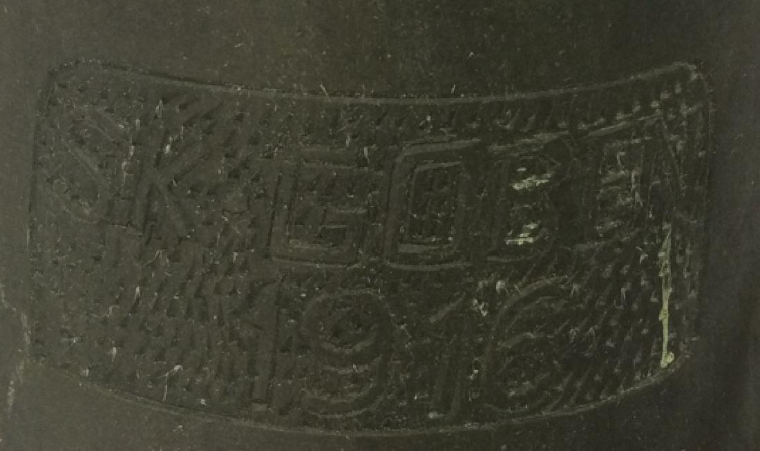 SK Goben 1916 Brass Bell with Metal Ornate Mount Brass, - 3