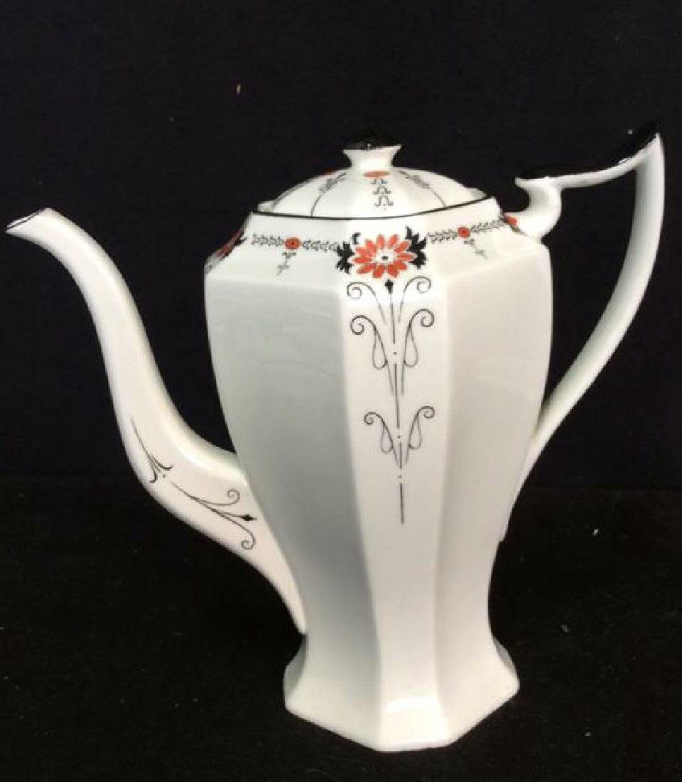 Shelley England Porcelain Coffee Service Set in good - 2
