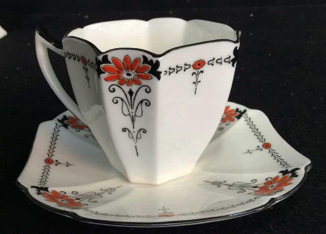 Shelley England Porcelain Coffee Service Set in good - 5