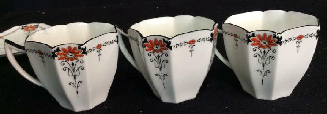 Shelley England Porcelain Coffee Service Set in good - 8