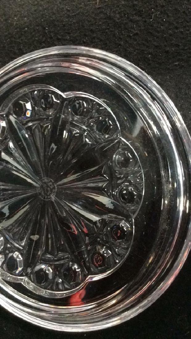 Baccarat Plate in Original Box Baccarat Candy Dish - 8