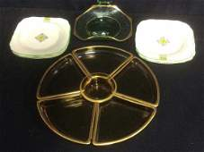 Group Vintage Glass And Porcelain Table Top Lot of