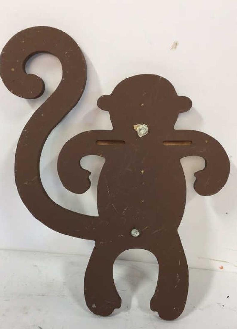 Wooden Animal Wall Decor Vintage whimsical carved - 4