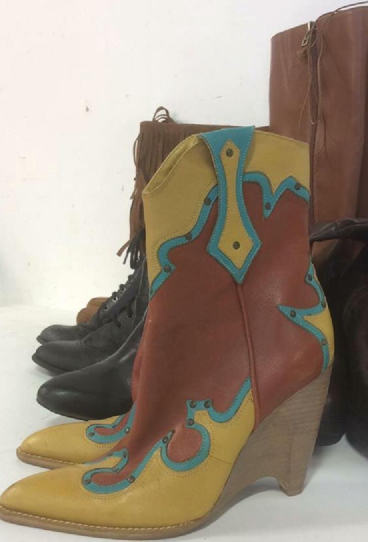 Group of Women's Boots Shoes Lot of 7 pair Women's - 2