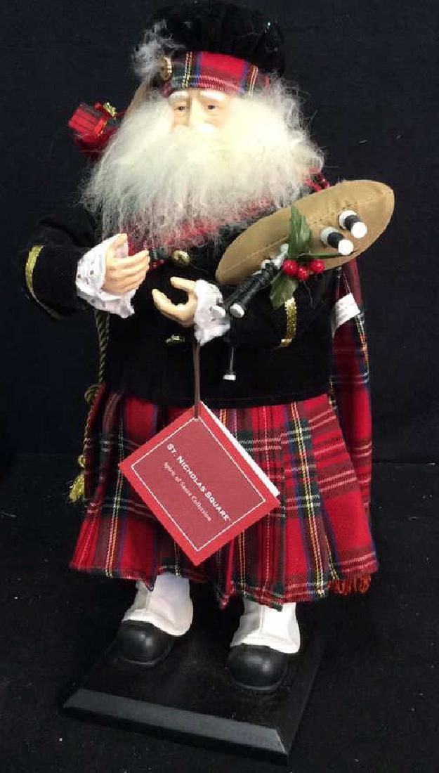 St Nicholas Square Spirit of Santa Collectible Scottish