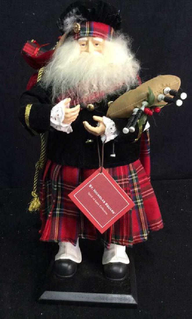 St Nicholas Square Spirit of Santa Collectible Scottish - 2