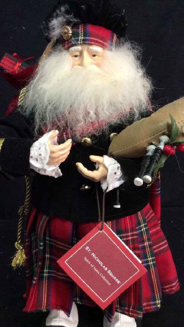 St Nicholas Square Spirit of Santa Collectible Scottish - 3