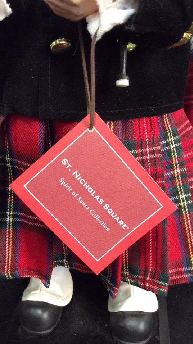 St Nicholas Square Spirit of Santa Collectible Scottish - 4