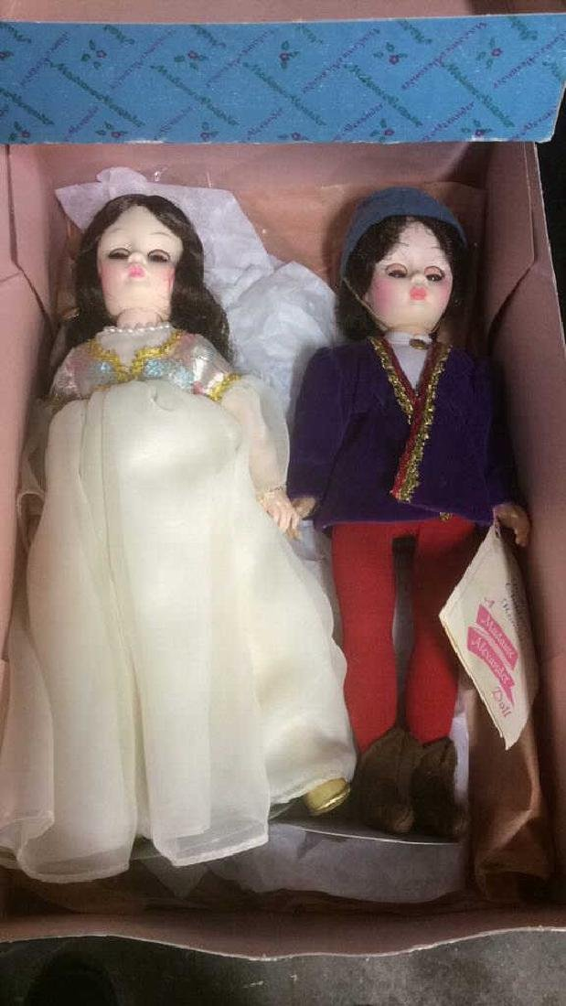 Pair Porcelain Romeo and Juliet Dolls Pair of porcelain - 9
