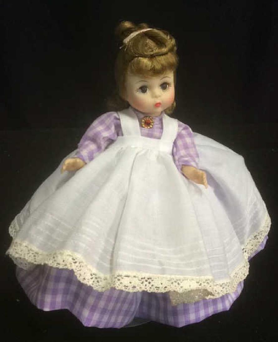 Porcelain 'Meg' Doll in Gingam Dress Porcelain 'Meg'