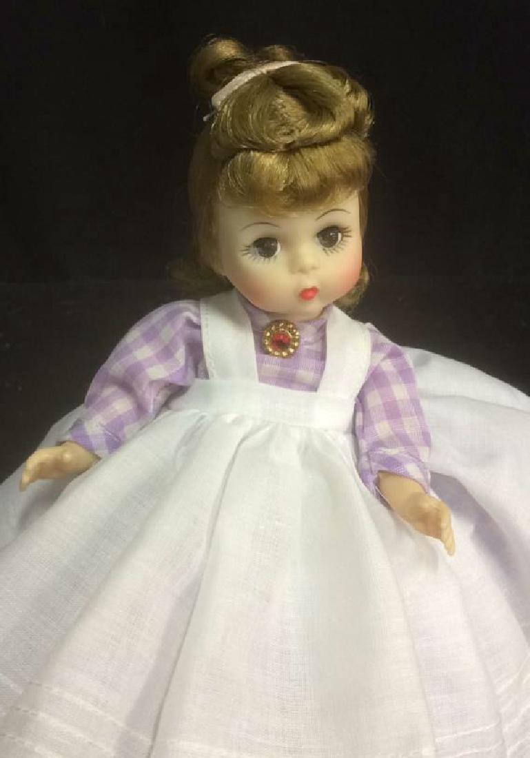 Porcelain 'Meg' Doll in Gingam Dress Porcelain 'Meg' - 2