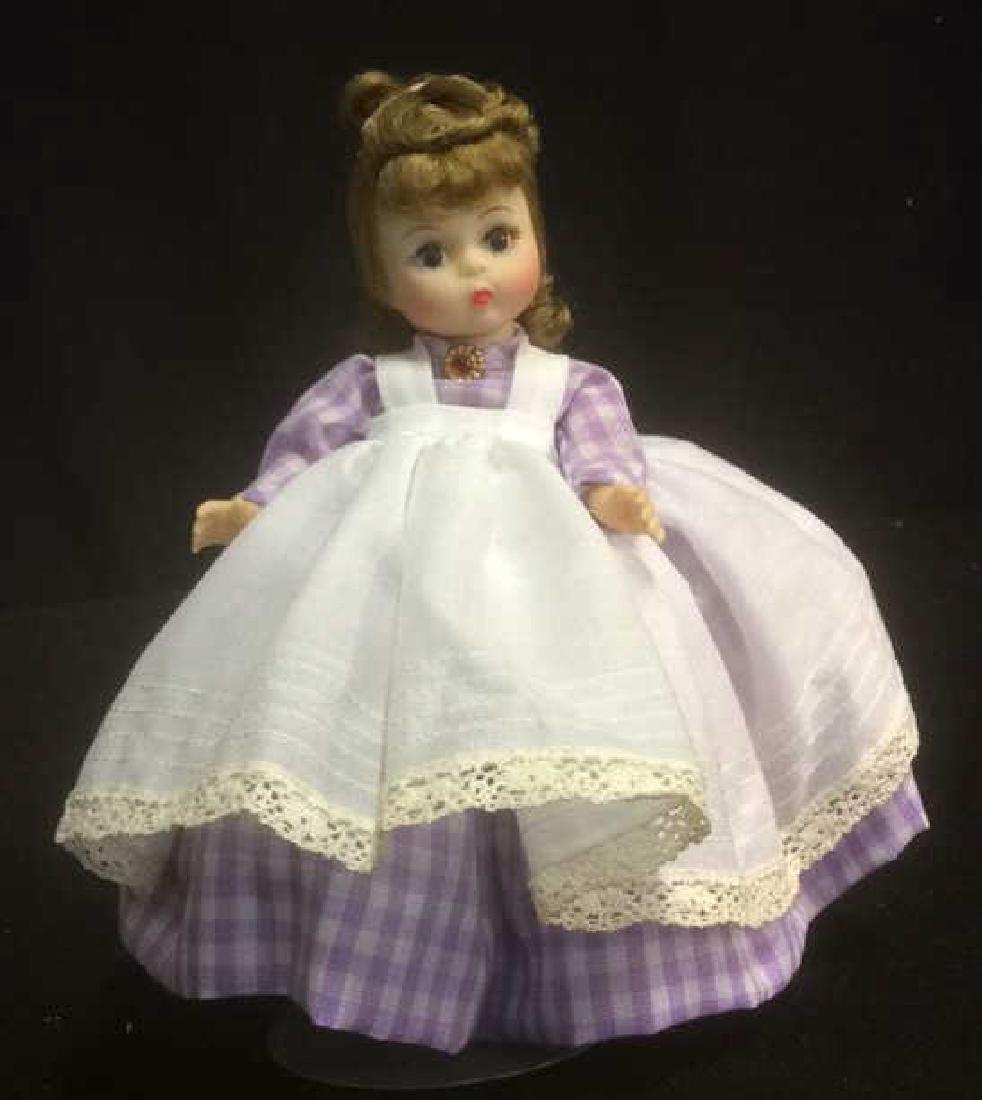 Porcelain 'Meg' Doll in Gingam Dress Porcelain 'Meg' - 3