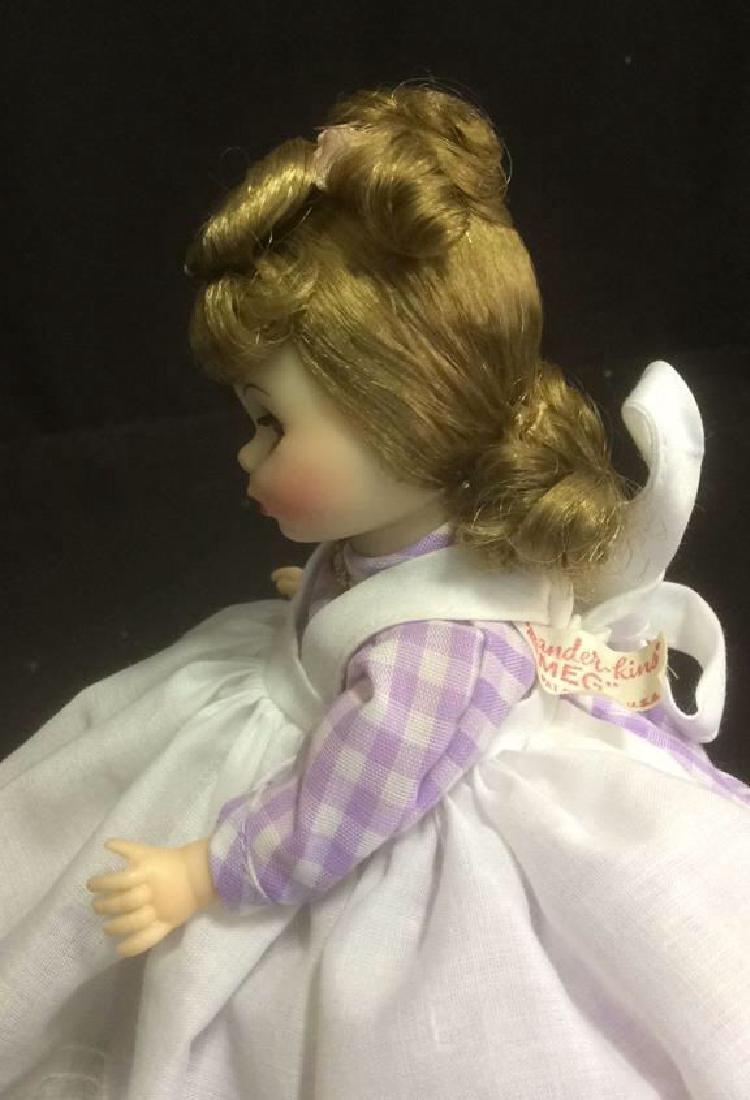 Porcelain 'Meg' Doll in Gingam Dress Porcelain 'Meg' - 4