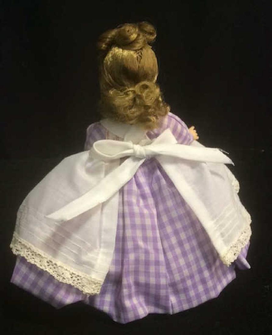 Porcelain 'Meg' Doll in Gingam Dress Porcelain 'Meg' - 6
