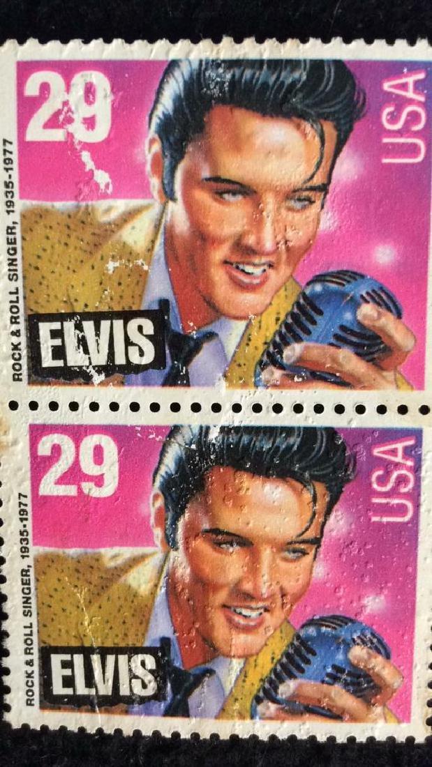 Vintage Pair Elvis Stamps 29cts 29 cent vintage Elvis - 2