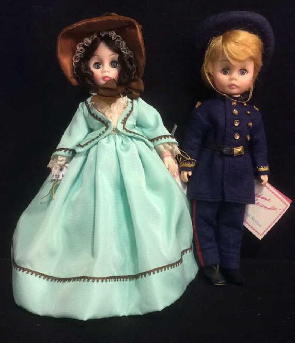 Pair Porcelain Dolls From Gone With The Wind Porcelain