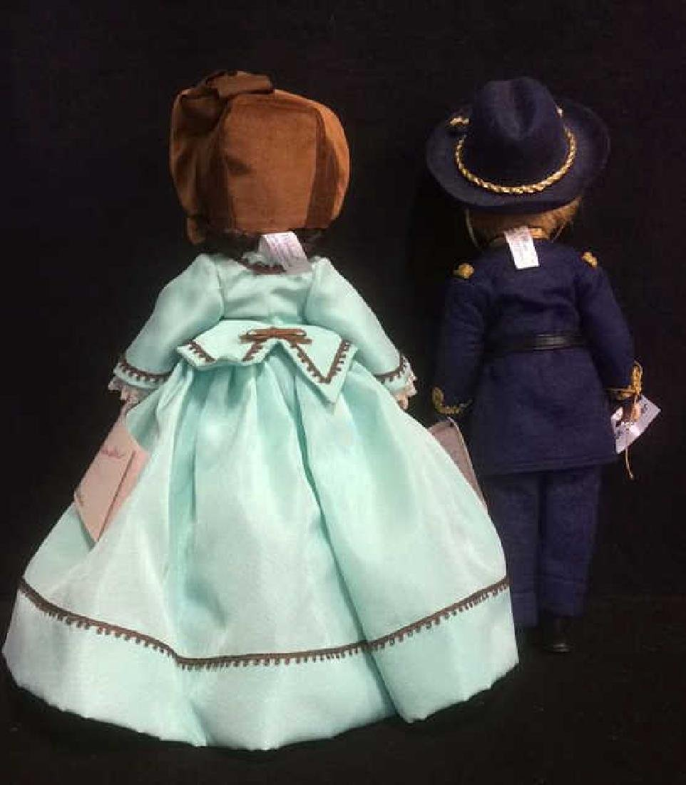 Pair Porcelain Dolls From Gone With The Wind Porcelain - 2