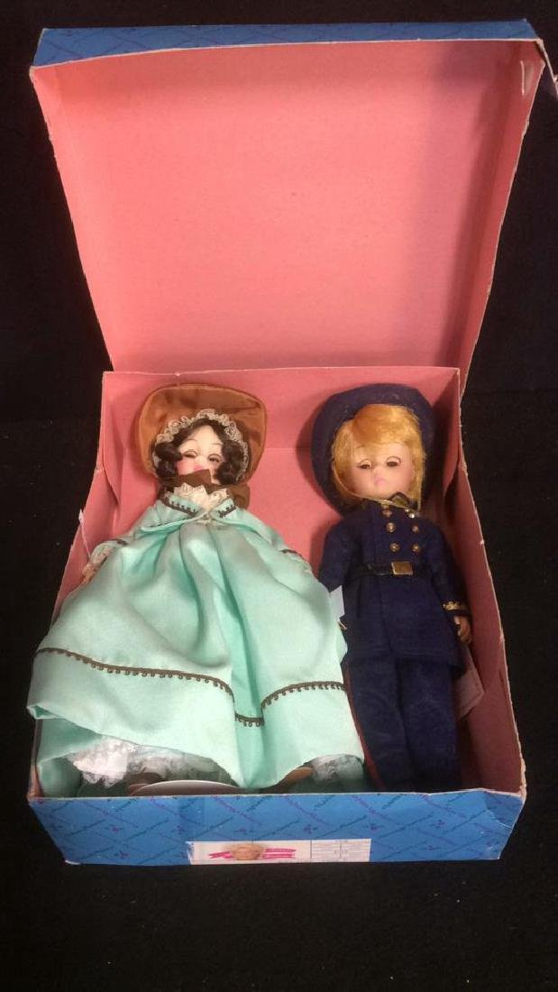 Pair Porcelain Dolls From Gone With The Wind Porcelain - 7