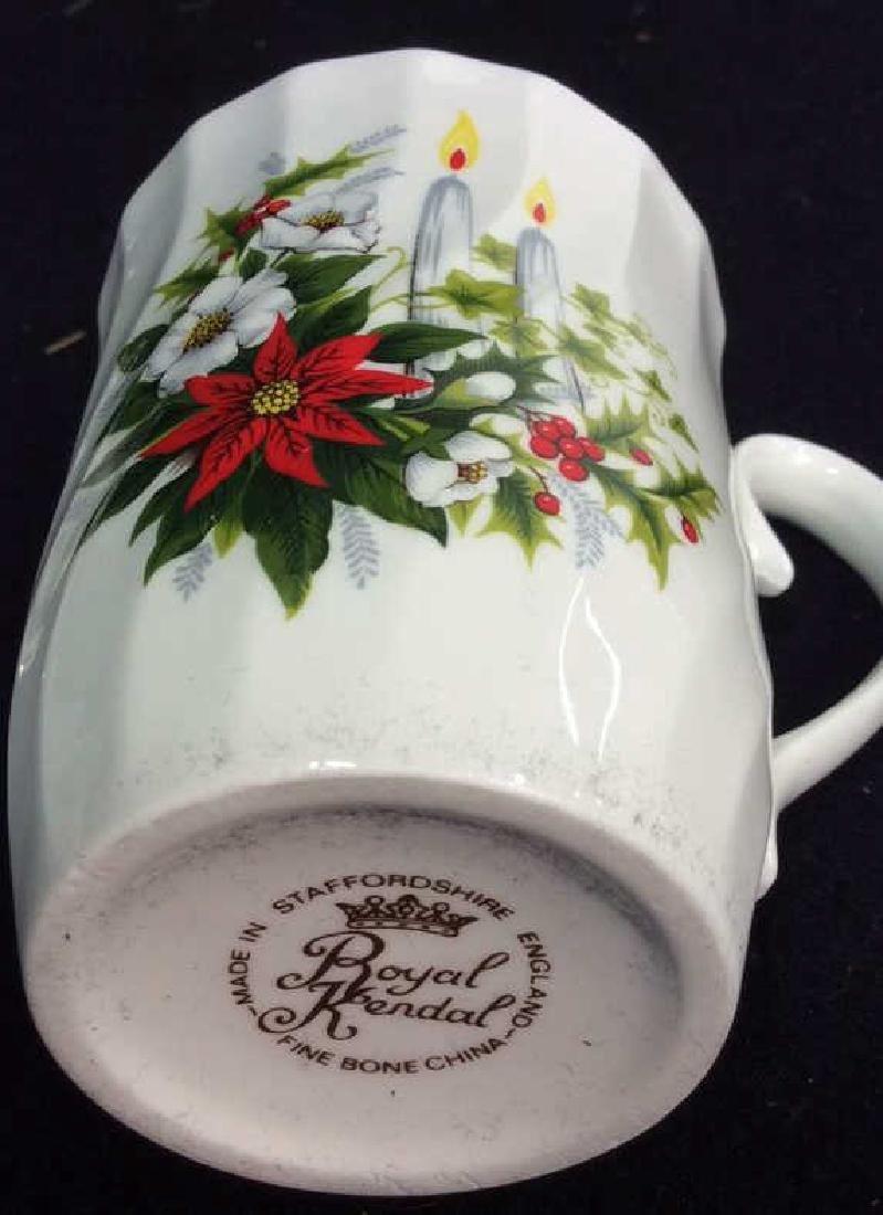 Group Staffordshire 14 Porcelain Mugs England One set - 5