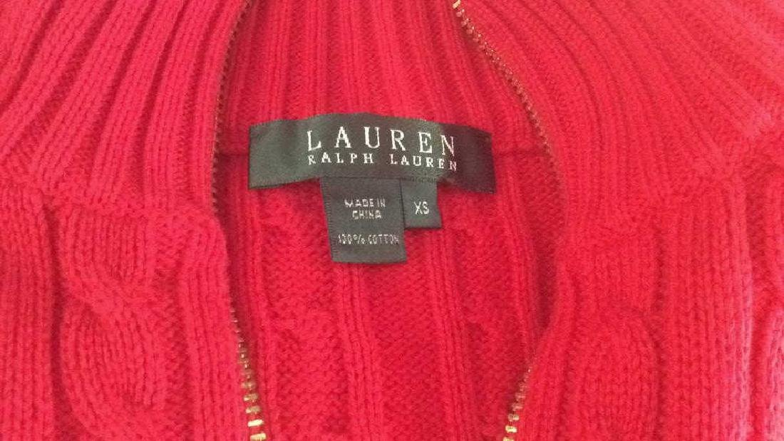 Group Women's Designer Sweaters Pinks to Reds Group Lot - 4