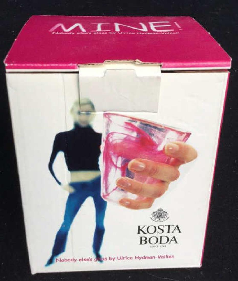 4 Kosta Boda Glass Tumblers Set of four Kosta Boda Blue - 9