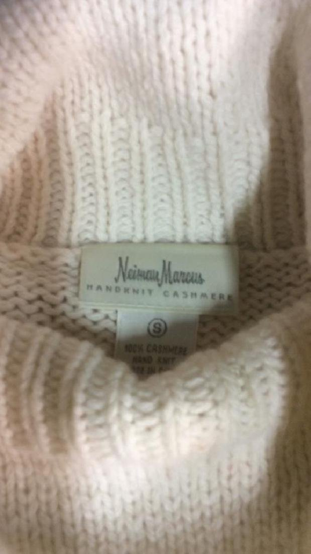 Group Women's Designer Sweaters Ivory Colors Group Lot - 2