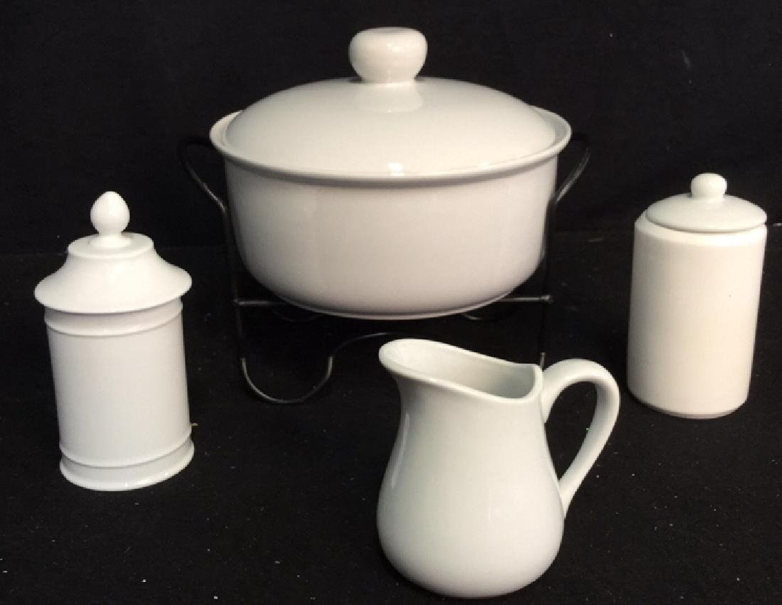 Group Lot Of Assorted White China And Ceramics 2 Royal - 10