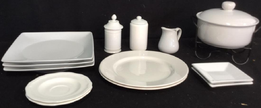 Group Lot Of Assorted White China And Ceramics 2 Royal