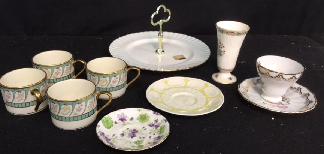 Group Lot Assorted China Assortment of china includes