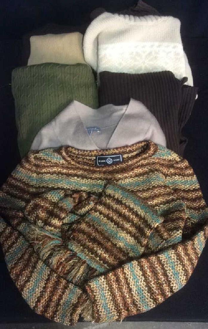 Group Women's Designer Sweaters Green to Brown Group