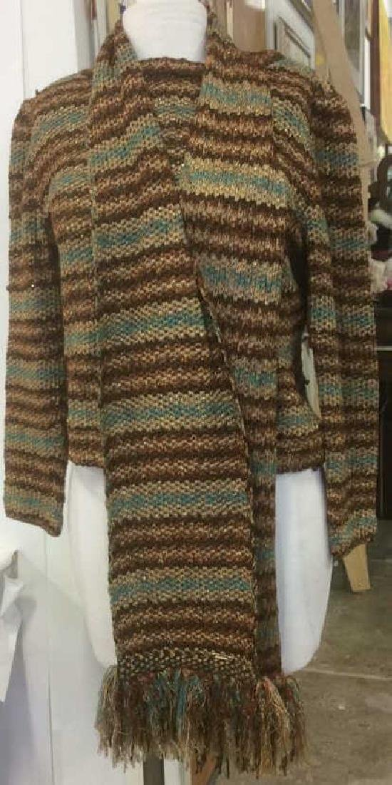 Group Women's Designer Sweaters Green to Brown Group - 4