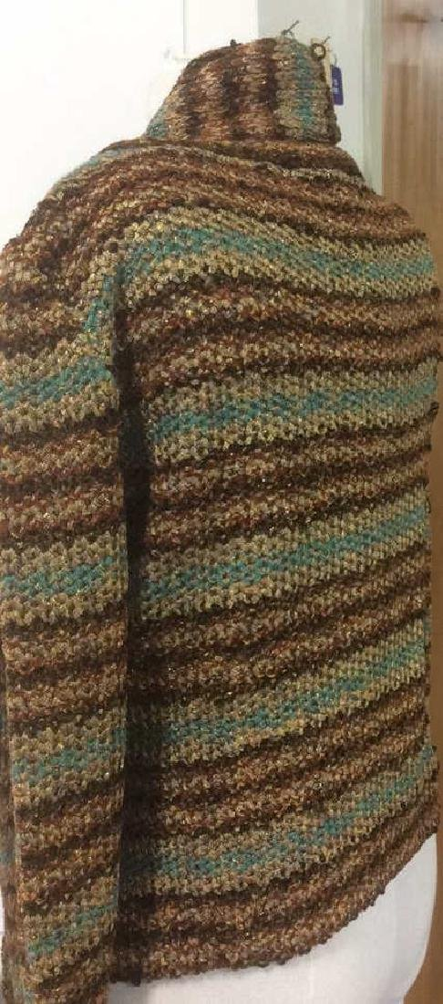 Group Women's Designer Sweaters Green to Brown Group - 7