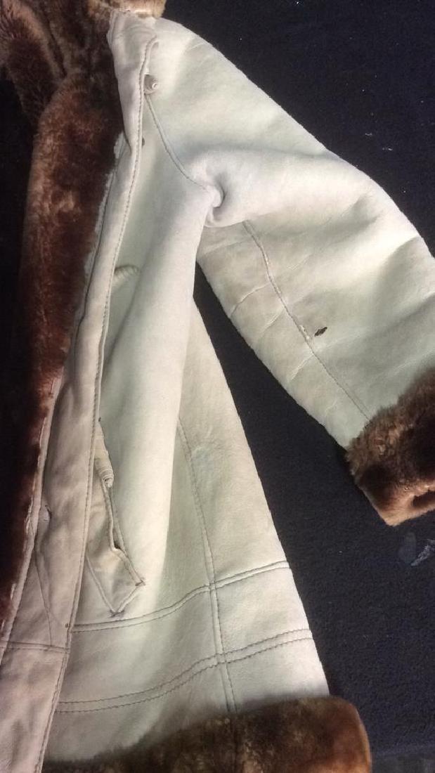 Women's Warm Jacket Light and Dark Brown Women's size - 6
