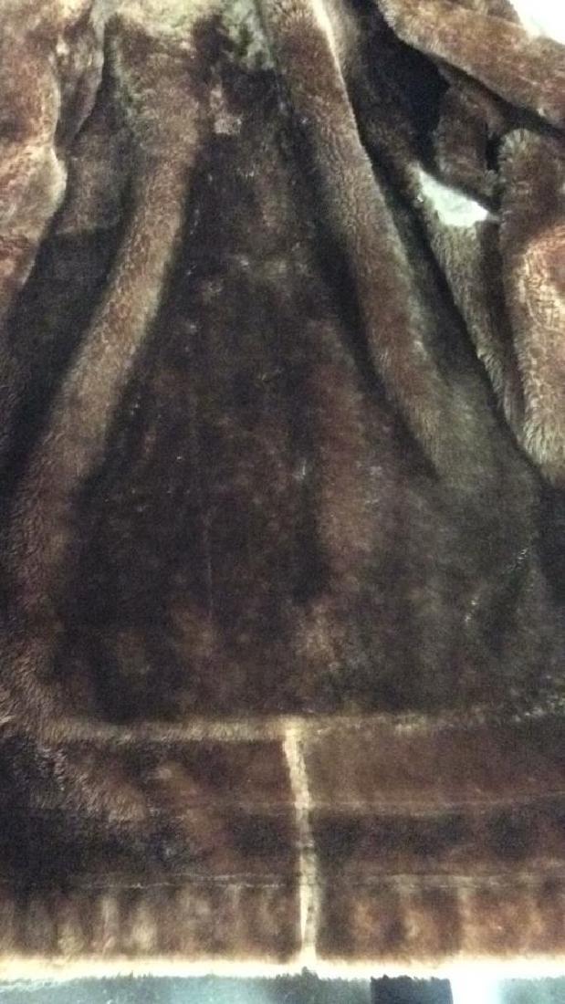 Women's Warm Jacket Light and Dark Brown Women's size - 7