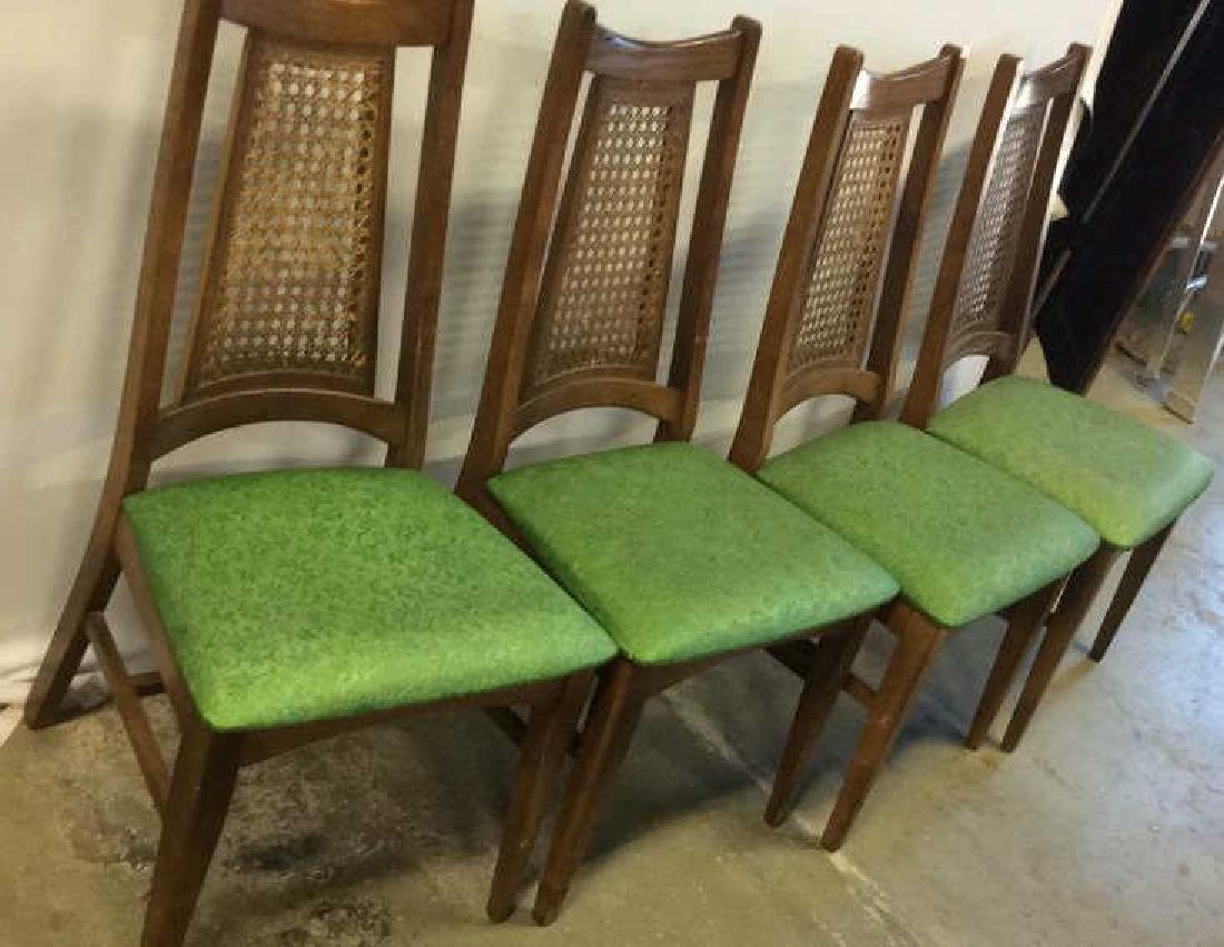 Set 4 Mid Century Dining Chairs Swedish/Danish Modern - 2