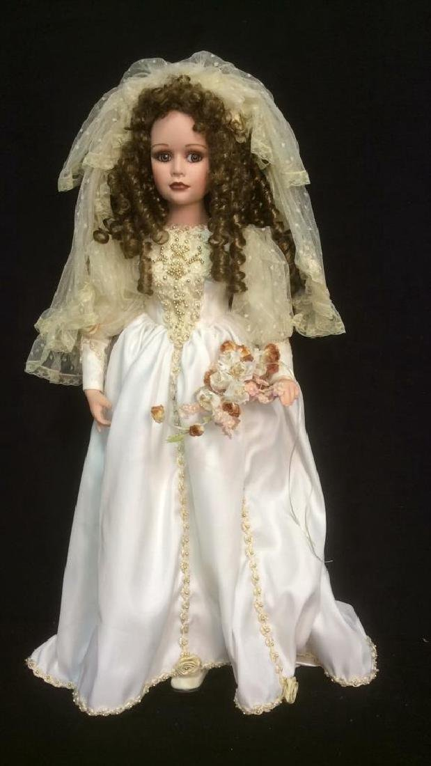 Porcelain Lasting Moment Doll in Wedding Dress Florence