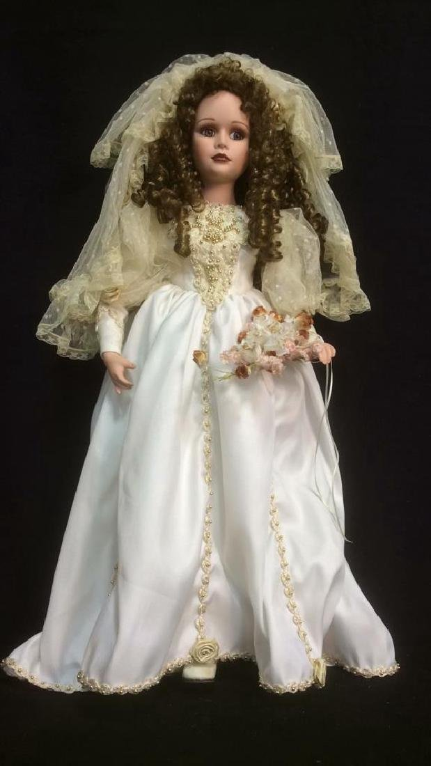 Porcelain Lasting Moment Doll in Wedding Dress Florence - 2