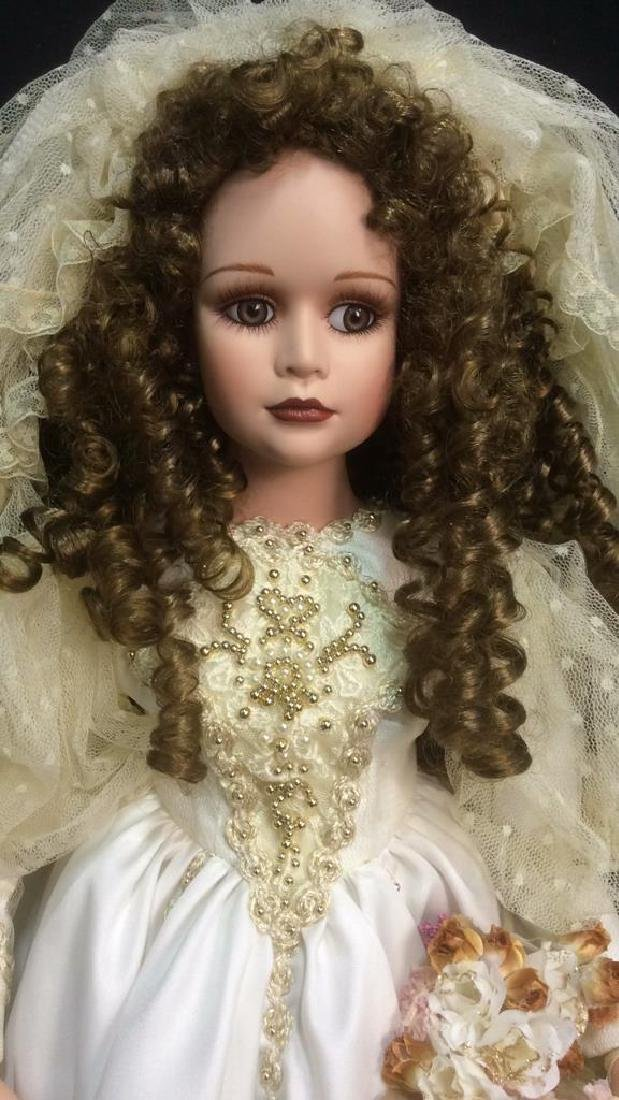 Porcelain Lasting Moment Doll in Wedding Dress Florence - 3