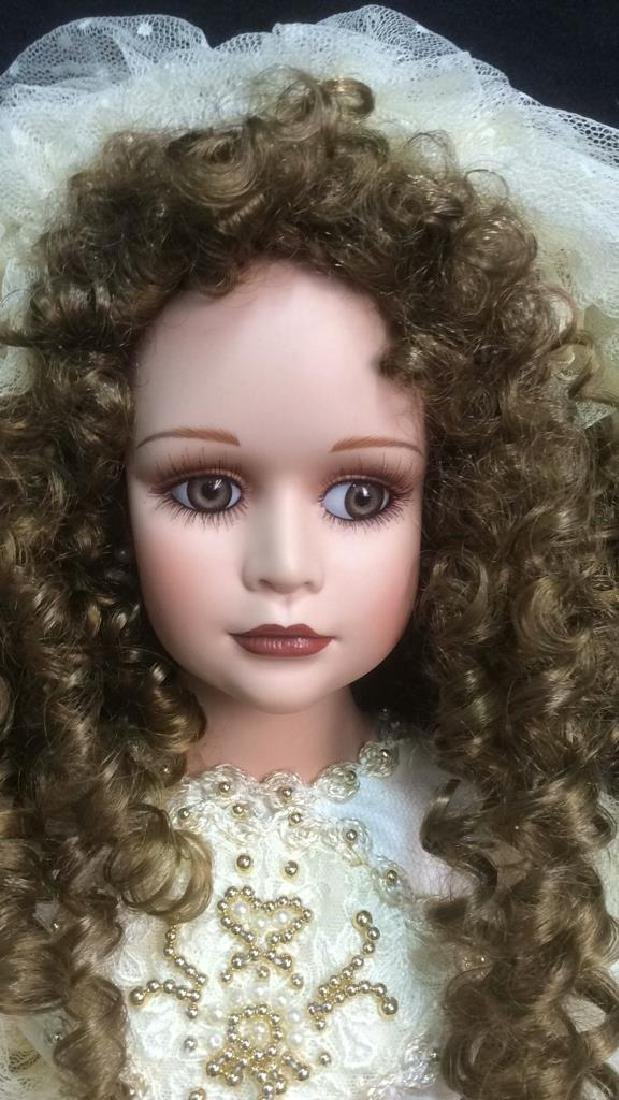 Porcelain Lasting Moment Doll in Wedding Dress Florence - 4