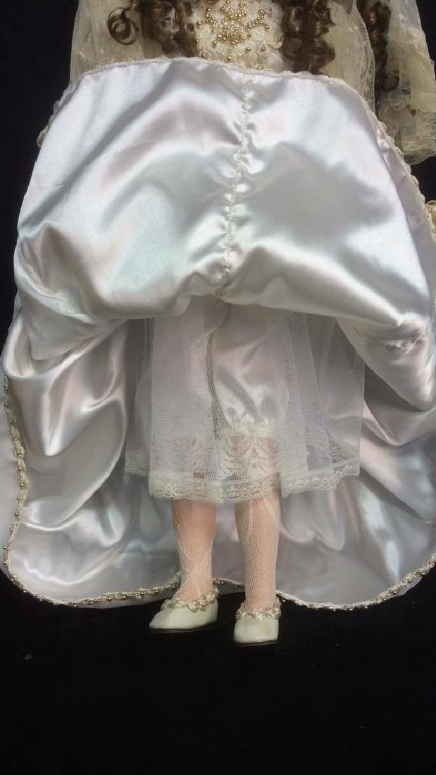 Porcelain Lasting Moment Doll in Wedding Dress Florence - 6