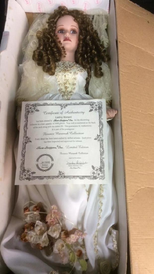 Porcelain Lasting Moment Doll in Wedding Dress Florence - 7