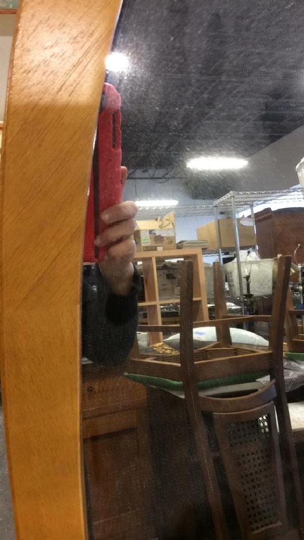 Vintage Floor Tilt Oval Mirror Floor standing Full - 4