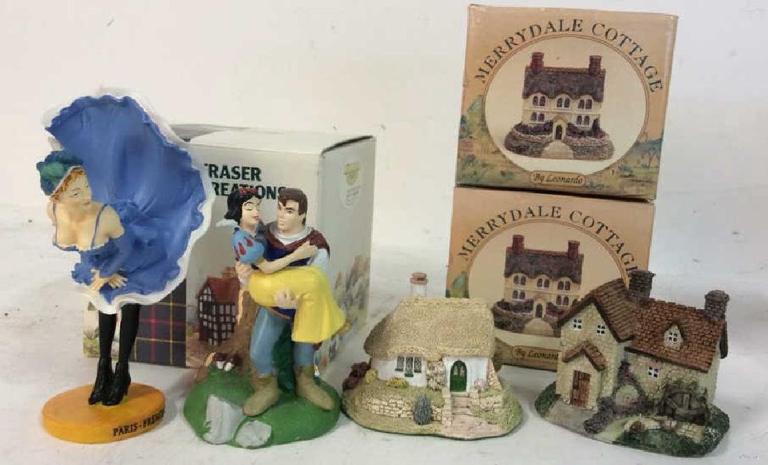 Group Collectible Figurines and boxes Lot includes
