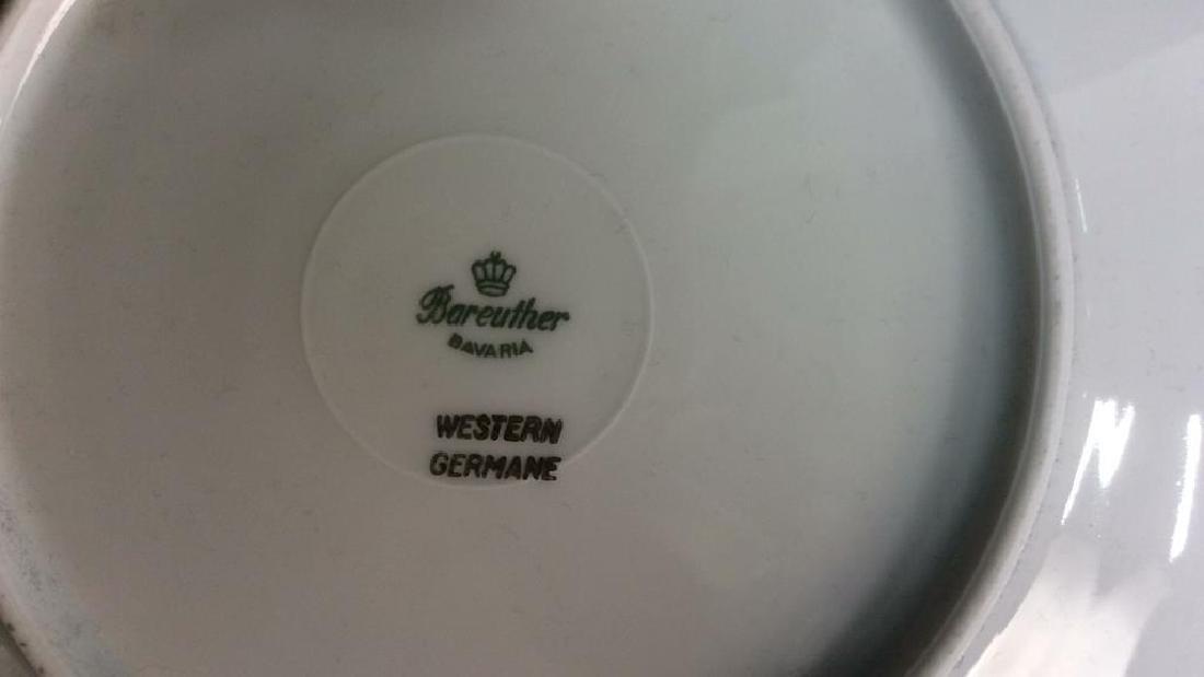 5 Vintage Bareuther Germany Fruit Decor Plates Vintage - 8