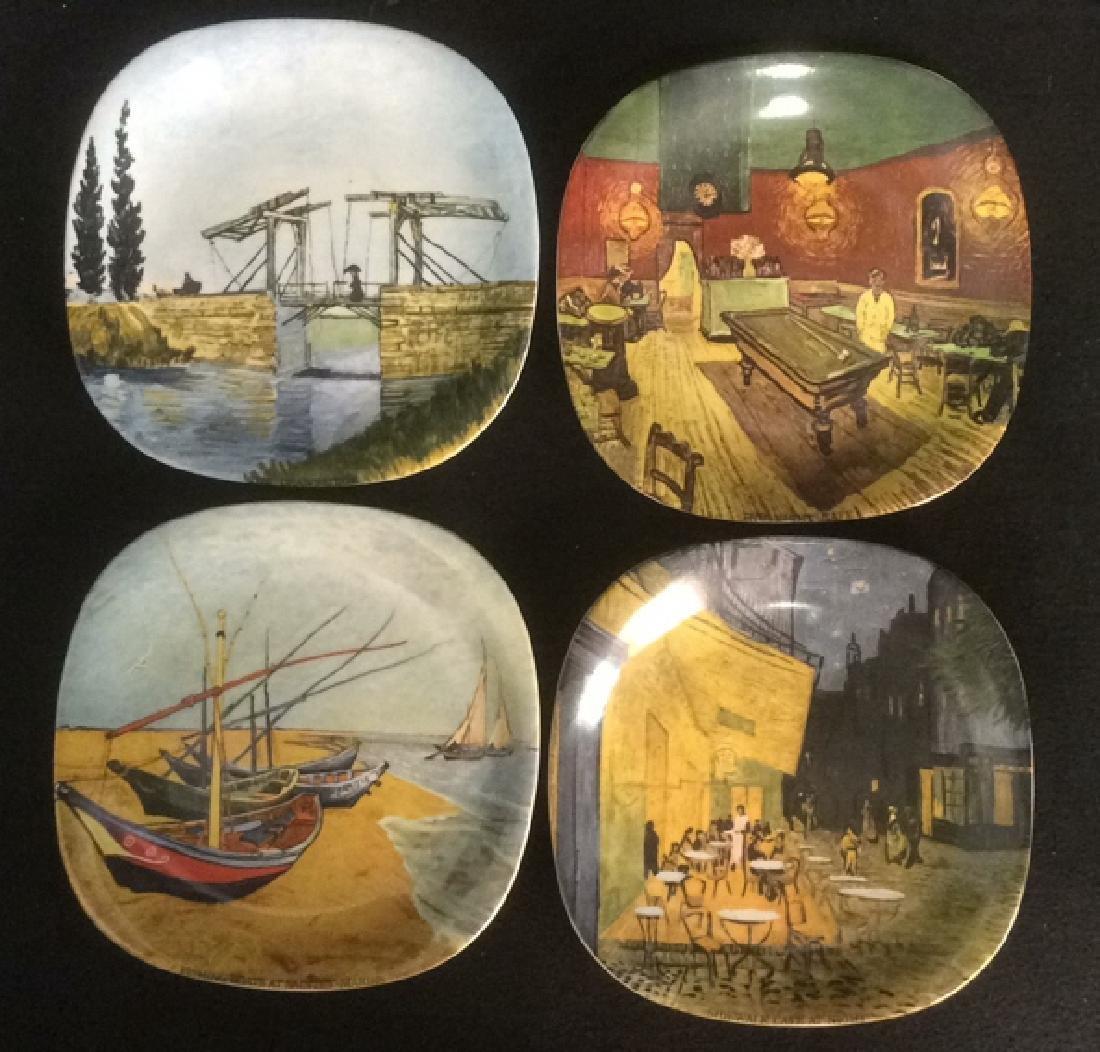 Vintage Set of 4 Van Gogh Series Collector Plates
