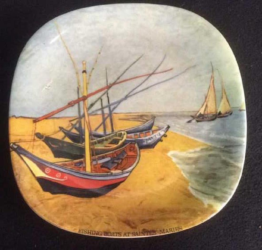 Vintage Set of 4 Van Gogh Series Collector Plates - 2