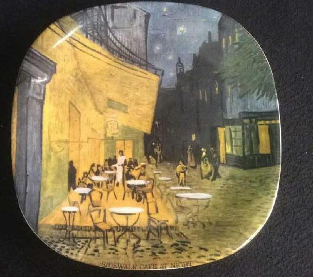 Vintage Set of 4 Van Gogh Series Collector Plates - 3