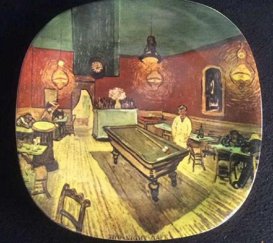 Vintage Set of 4 Van Gogh Series Collector Plates - 4