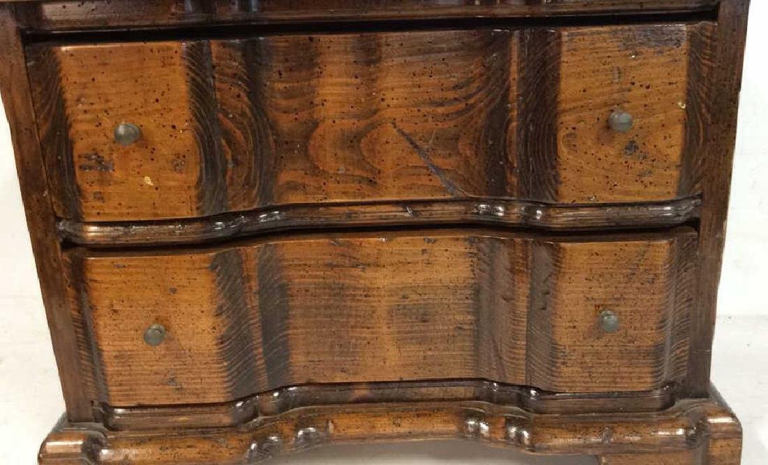 Antique two drawer commode Antique two drawer wood - 3